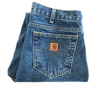 Carhartt Mens Denim Jeans Relaxed Fit Size 36 X 32